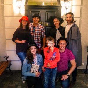 Escape room, Escape room - Prípad Sherlocka Holmesa, Úniková miestnosť, Úniková hra