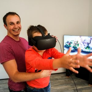 Virtuálna realita, Virtual reality, VR, Escape room
