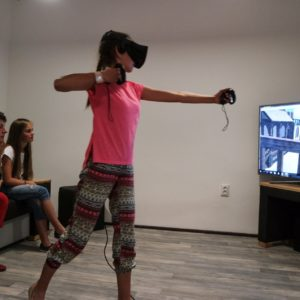 Virtuálna realita, Virtual reality, Escape room, VR